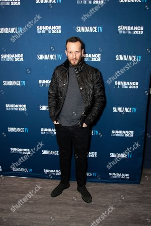 Stock Image of Bodhi Elfman poses at the SundanceTV Kickoff Party during the 2019 Sundance Film Festival, in Park City, Utah