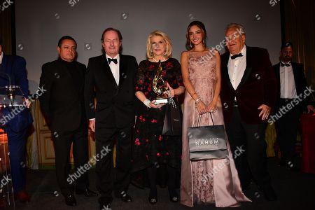 Edouard Nahoum, Francine Lefrak, Patricia Contreras, Massimo Gargia the Best Award Gala 42nd Edition at Cercle de l Union Interalliee. 25/01/2019-Paris, FRANCE.//BENHAMOU_LBH_6283/1901261204/Credit:LAURENT BENHAMOU/SIPA/1901261211