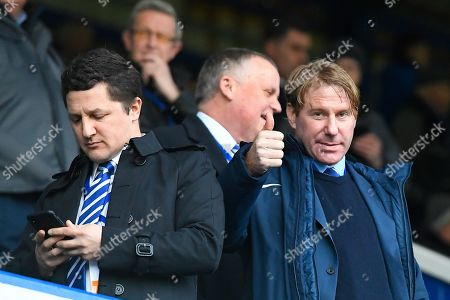 Stock Picture of Eric Eisner gives a thumbs up during Portsmouth vs Queens Park Rangers, Emirates FA Cup Football at Fratton Park on 26th January 2019