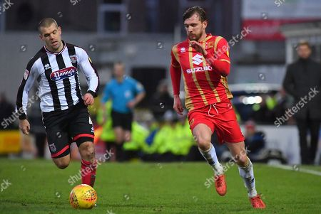 Editorial picture of Grimsby Town FC v Milton Keynes Dons, EFL Sky Bet League 2 - 26 Jan 2019