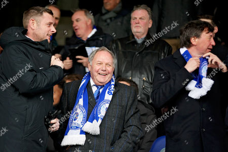 Peterborough Utd owner Darragh MacAnthony, Director of Football Barry Fry and co- owner Jason Neale before sacking Peterborough Utd manager Steve Evans after the EFL Sky Bet League 1 match between Peterborough United and Charlton Athletic at London Road, Peterborough