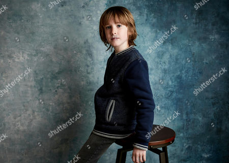 """Stock Picture of James Quinn Markey poses for a portrait to promote the film """"The Hole in the Ground"""" at the Salesforce Music Lodge during the Sundance Film Festival, in Park City, Utah"""