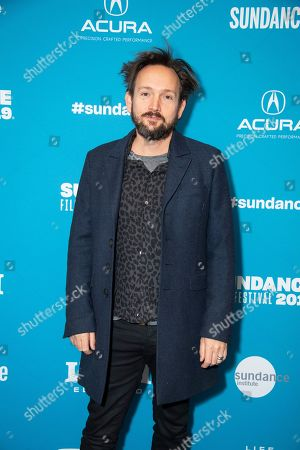 """Stock Photo of Will Bates poses at the premiere of """"The Sound of Silence"""" during the 2019 Sundance Film Festival, in Park City, Utah"""