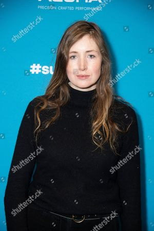 """Stock Picture of Kate Lyn Sheil poses at the premiere of """"The Sound of Silence"""" during the 2019 Sundance Film Festival, in Park City, Utah"""