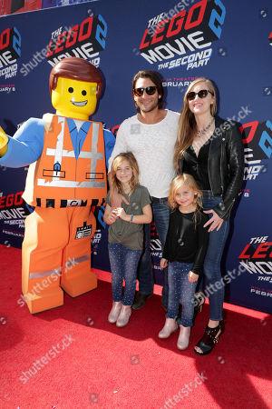 Zach McGowan, Emily Johnson, family