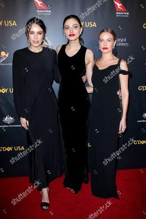 Jessica McNamee, Phoebe Tonkin and Lara Bingle