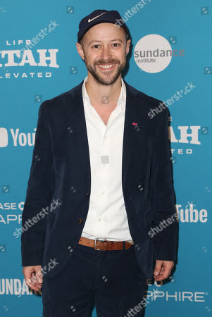 Fabian Gasmia arrives for the premiere of 'Sunlit Night' at the 2019 Sundance Film Festival in Park City, Utah, United States, 26 January 2019. The festival runs from the 24 January to 02 February 2019.