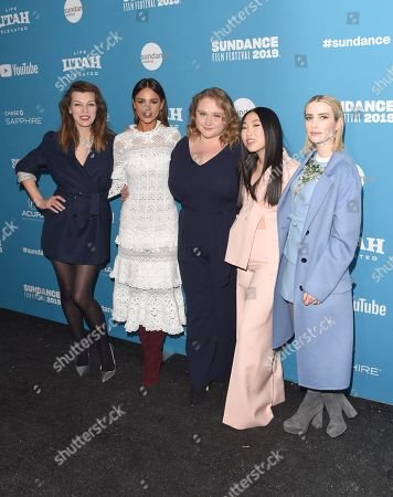 Mila Jovovich, Eiza Gonzalez, Danielle Macdonald, Awkwafina and Emma Roberts
