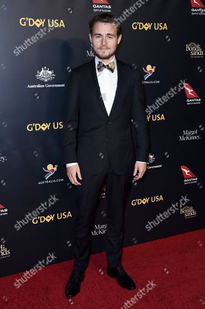 Callan McAuliffe attends the 2019 G'Day USA Los Angeles Gala at 3Labs, in Culver City, Calif