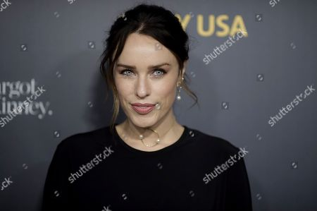 Jessica McNamee attends the 2019 G'Day USA Los Angeles Gala at 3Labs, in Culver City, Calif