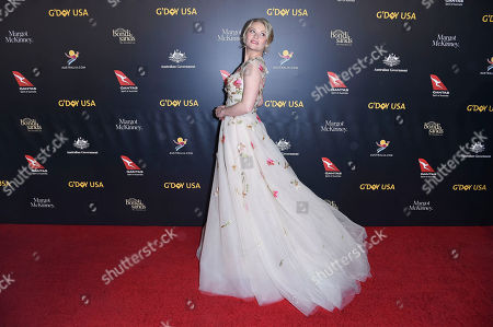 Emilie de Ravin attends the 2019 G'Day USA Los Angeles Gala at 3Labs, in Culver City, Calif