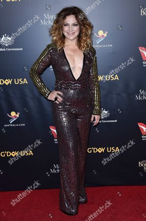 Nikka Costa attends the 2019 G'Day USA Los Angeles Gala at 3Labs, in Culver City, Calif