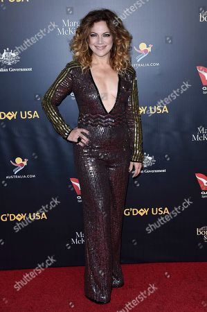 Stock Picture of Nikka Costa attends the 2019 G'Day USA Los Angeles Gala at 3Labs, in Culver City, Calif