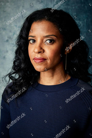 """Renee Elise Goldsberry poses for a portrait to promote the series """"Documentary Now!"""" at the Salesforce Music Lodge during the Sundance Film Festival, in Park City, Utah"""