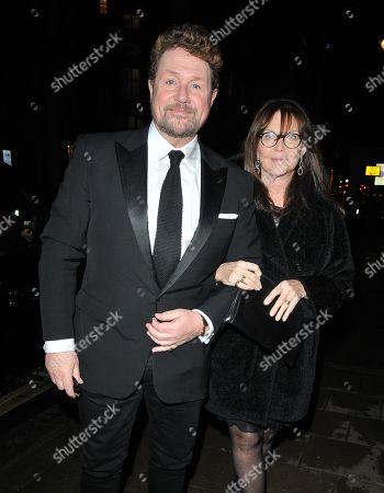 Stock Image of Michael Ball and Cathy McGowan