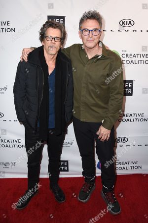 Kevin Bacon and Tim Daly