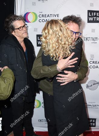 Kevin Bacon, Tim Daly and Kyra Sedgwick