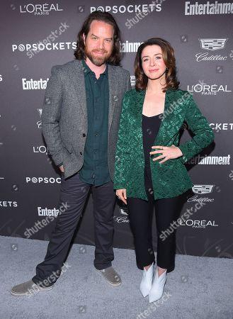 Caterina Scorsone and Rob Giles