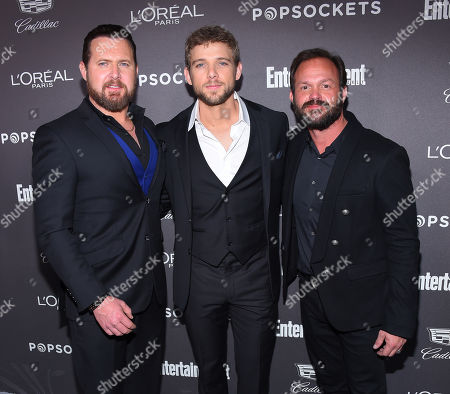 Stock Picture of AJ Buckley, Max Thieriot and Judd Lormand
