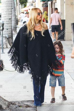 Rachel Zoe and her son Skyler Morrison Berman