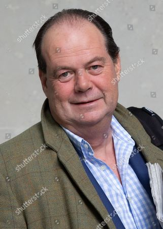Stephen Hammond MP, Minister of State at the Department of Health and Social Care, leaves the BBC Studios.