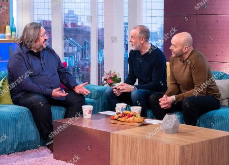 Mark Benton, Tim Lovejoy and Simon Rimmer