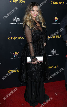 Editorial image of G'Day USA Gala, Arrivals, 3Labs, Los Angeles, USA - 26 Jan 2019