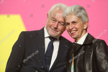 German Free Democrats (FDP) Member Wolfgang Kubicki (L) and FDP Bundestag member Marie-Agnes Strack-Zimmermann attend the FDP Europe Congress, where the party's candidate for the European Parliament is chosen, in Berlin, Germany, 27 January 2019. The next elections to the European Parliament will be held in May.