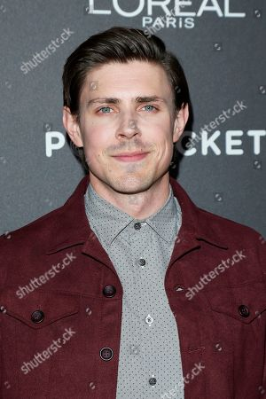 Chris Lowell arrives for the Entertainment Weekly Pre-SAG Party at Chateau Marmont in West Hollywood, Los Angeles, California, USA, 26 January 2019 (issued 27 January 2019).