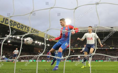 Connor Wickham of Crystal Palace scores the opening goal