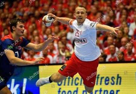 Editorial photo of Handball World Championship, Herning, Denmark - 27 Jan 2019
