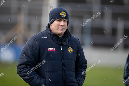 Waterford vs Offaly. Offaly manager Kevin Martin
