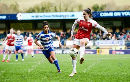 Editorial picture of Reading Women v Arsenal Women, The FA Women's Super League, Football, Adams Park, Wycombe, UK - 27 Jan 2019