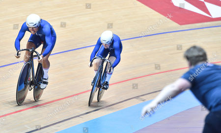 Editorial image of 2019 HSBC UK National Track Championships. Manchester, UK - 27 Jan 2019