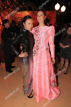 Ellen Wong and Kate Nash