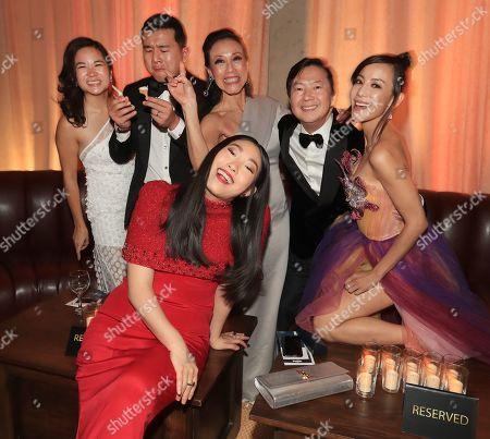 Hannah Pham, Ronny Chieng, Tan Kheng Hua, Awkwafina, Ken Jeong and Fiona Xie