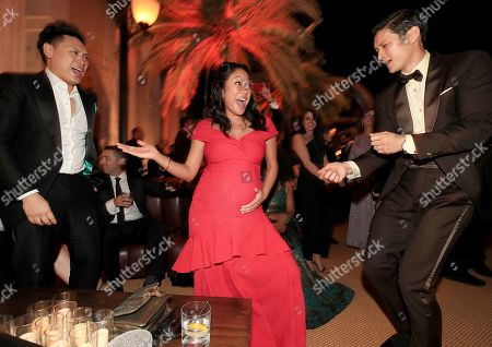 Guest, Shelby Rabara and Harry Shum Jr.