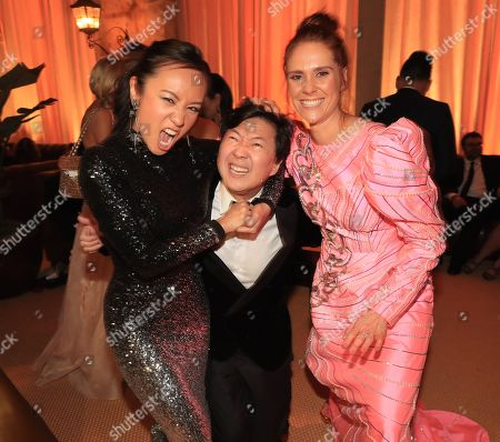 Ellen Wong, Ken Jeong and Kate Nash