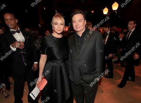 Kelly Tisdale and Mike Myers