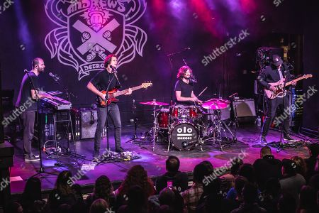 Editorial photo of Kongos in concert at St. Andrews Hall, Detroit, USA - 24 Jan 2019
