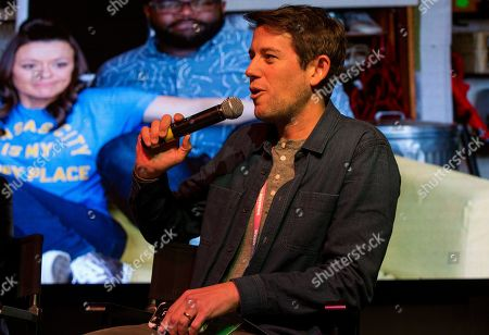 """Ben Lyons during the """"Bootstrapped"""" panel at the Last Call Presents the Complex Music in Film Summit, at Park City Live, in Park City, Utah"""