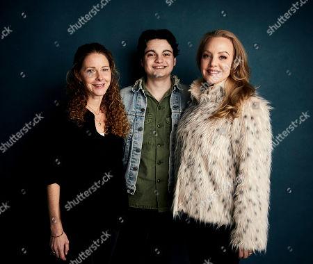 "Editorial picture of 2019 Sundance Film Festival - ""Imaginary Order"" Portrait Session, Park City, USA - 27 Jan 2019"