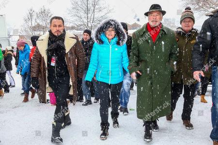 Klemens Hallmann, Heather Milligan, Arnold Schwarzenegger