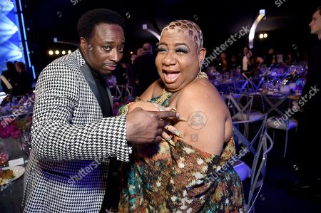 Eddie Griffin, Luenell. Eddie Griffin, left and Luenell attends the 25th annual Screen Actors Guild Awards at the Shrine Auditorium & Expo Hall, in Los Angeles