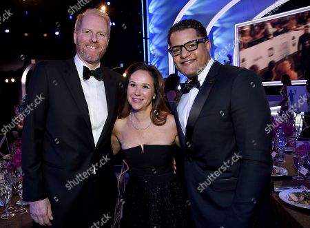 Stock Picture of Noah Emmerich, Beth Deutschman, Brandon J. Dirden. Noah Emmerich, from left, Beth Deutschman, and Brandon J. Dirden attend the 25th annual Screen Actors Guild Awards at the Shrine Auditorium & Expo Hall, in Los Angeles