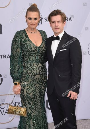 Marianna Palka, Zac Clark. Marianna Palka, left, and Zac Clark arrive at the 25th annual Screen Actors Guild Awards at the Shrine Auditorium & Expo Hall, in Los Angeles