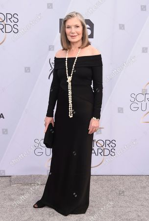 Susan Sullivan arrives at the 25th annual Screen Actors Guild Awards at the Shrine Auditorium & Expo Hall, in Los Angeles