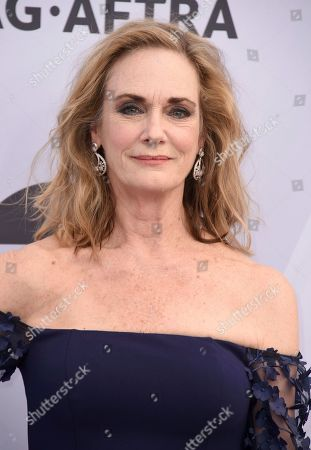 Stock Image of Lisa Emery arrives at the 25th annual Screen Actors Guild Awards at the Shrine Auditorium & Expo Hall, in Los Angeles