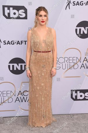 Stock Picture of Danika Yarosh arrives at the 25th annual Screen Actors Guild Awards at the Shrine Auditorium & Expo Hall, in Los Angeles