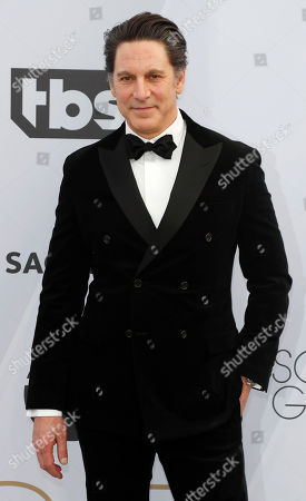 Scott Cohen arrives for the 25th annual Screen Actors Guild Awards ceremony at the Shrine Auditorium in Los Angeles, California, USA, 27 January 2019.